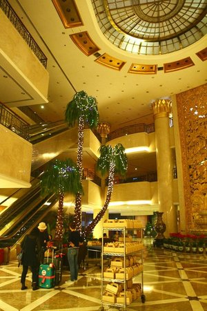 Hotel Nikko New Century Beijing : ホテルのロビー