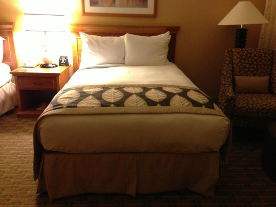 Hilton Seattle Airport & Conference Center : Super Comfy Beds
