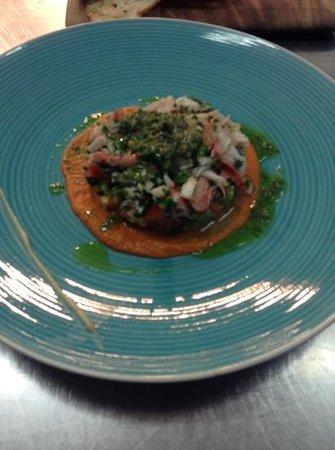 Sprout Dining: Alaskan King Crab Salad
