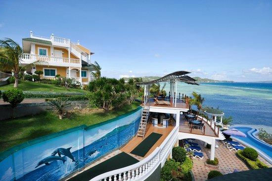 Monaco Suites de Boracay : Deck
