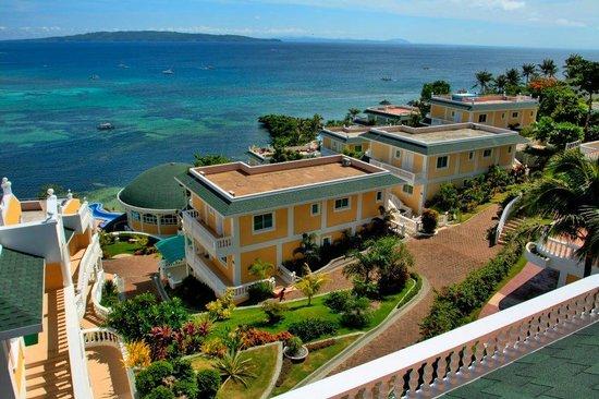 Monaco Suites de Boracay : Hotel view