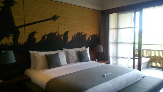 Alaya Resort Ubud: bed