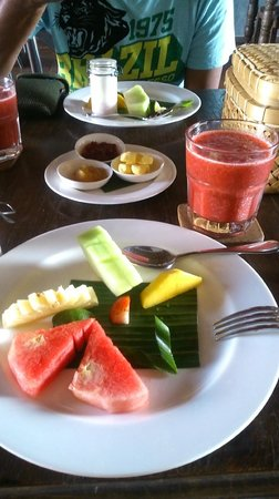 Alaya Resort Ubud: breakfast