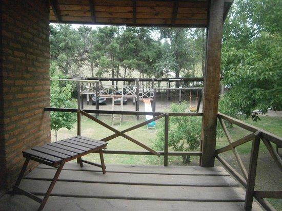 Cabanas Trancas y Barrancas: Desde nuestro balcón al despertar