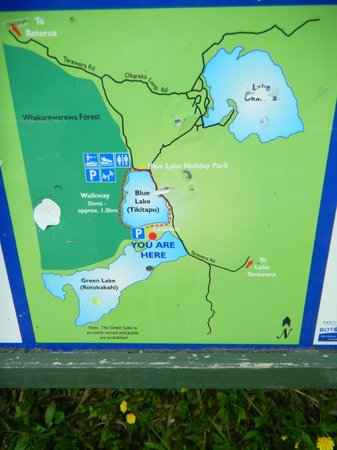 Blue Lake Track: Map of the Area
