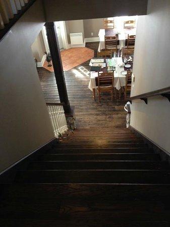 Auberge Le Voyageur: dining room/Living room