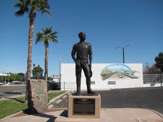 Robert G. Fowler Statue