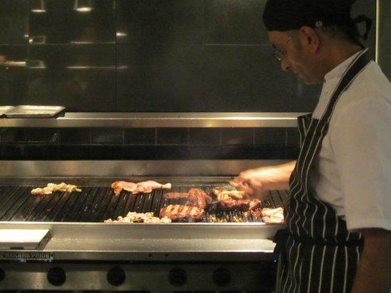 Cau: My steak on the grill