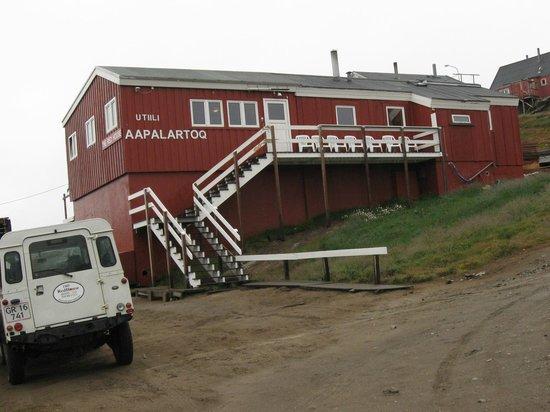 Tasiilaq, Greenland: la Red House di Robert Peroni e dei suoi amici Ivi