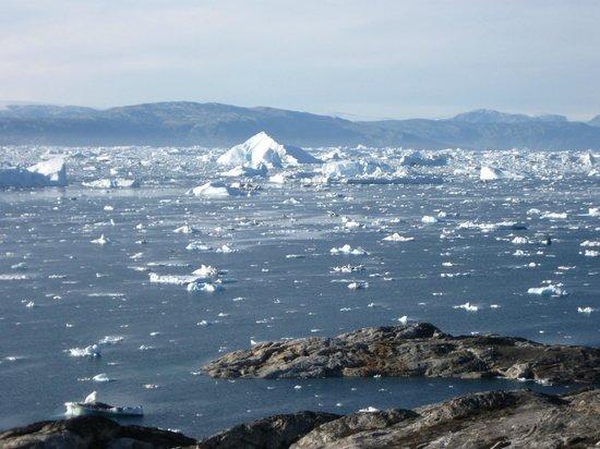 Hotel The Red House: un mare di iceberg!