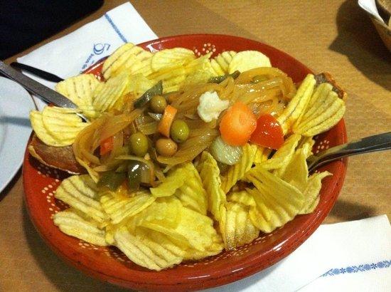 Restaurante Pedro dos Frangos: Morue à la braga pour 2