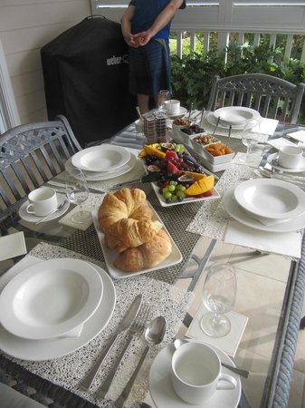 Brezza Bella Bed & Breakfast : Breakfast
