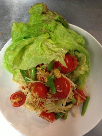 Courtside Thai Cuisine: beautiful food