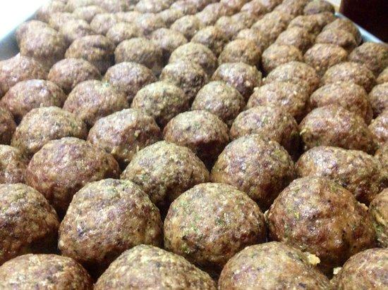 Cerame's Italian Villa: Homemade Meatballs