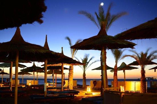 Beach Albatros Resort: Sunset photo at Beach Albatros.