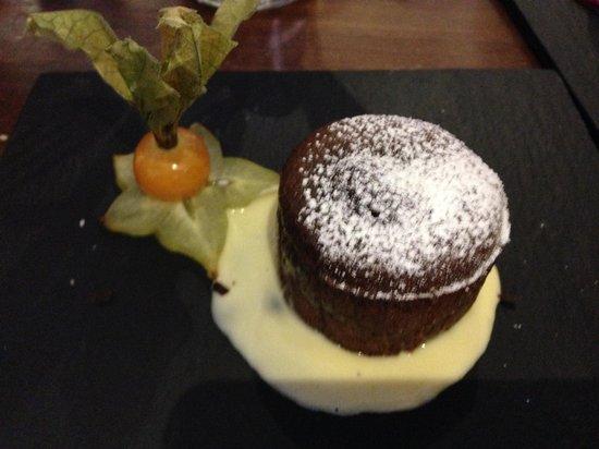Mu Madrid : Chocolate dessert