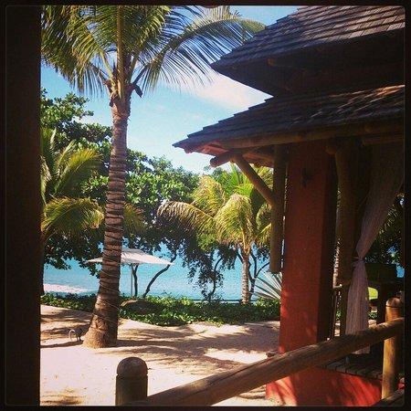 Tamarina Golf & Spa Boutique Hotel: Vu mer au pti déj