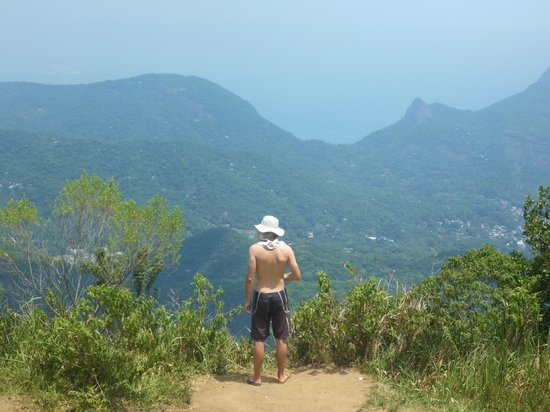 Tijuca National Park: From pico da tijuca looking over the park and city