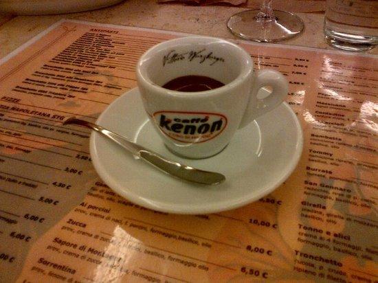 San Gennaro Pizzerie: Great espresso