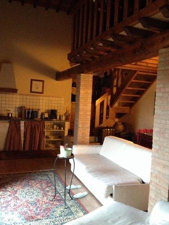 Relais Villa L'Olmo: Гостинная