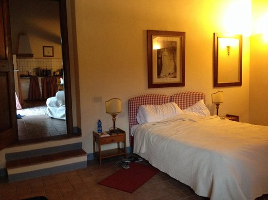 Relais Villa Olmo : Спальня
