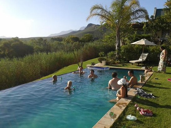 Rosendal Winery & Wellness Retreat: Lovely pool area for relaxing and socialising