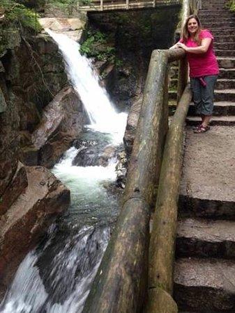 Franconia Notch State Park: flume!