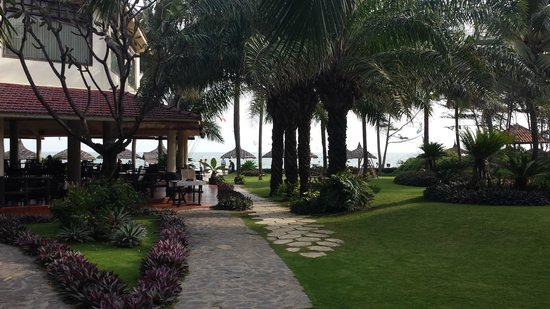 The Beach Resort : Jardin