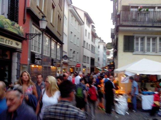 Old Town (Altstadt) : Улицы старого Цюриха