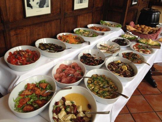 Lunch buffet picture of scalini italian restaurant baku for Italian buffet
