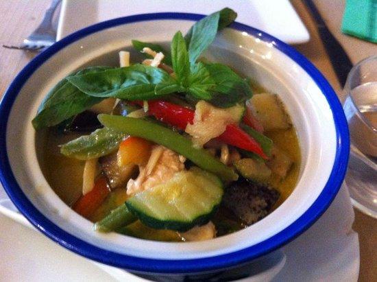 Bangkok Cafe: Pollo curry verde