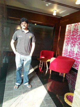 Hotel Cosmopolitan : Lounge in the corridor