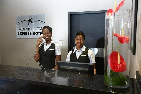 Morning Star Express Hotel: Reception