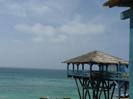 Marine Club Beach Resort : Veranda sul amre