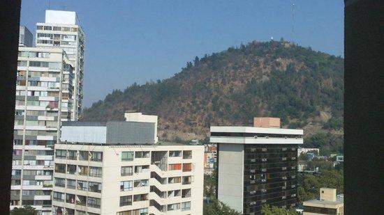 Ibis Santiago Providencia : Vista desde el hotel