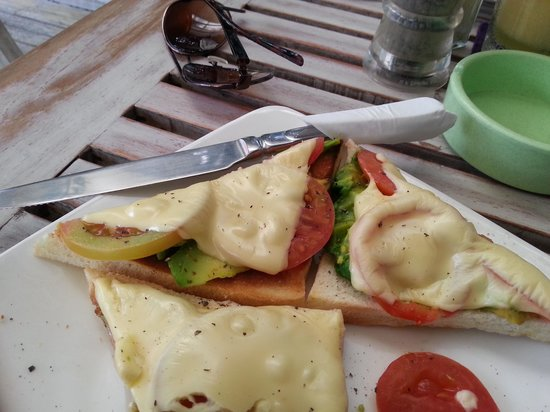 Coffee Corner: avocado melt