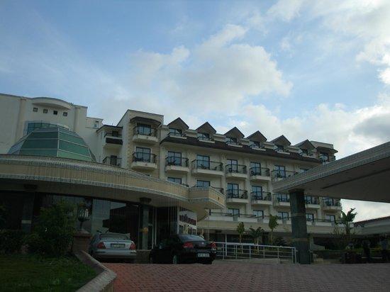 SENTIDO Palmet Resort: Компактно и уютно