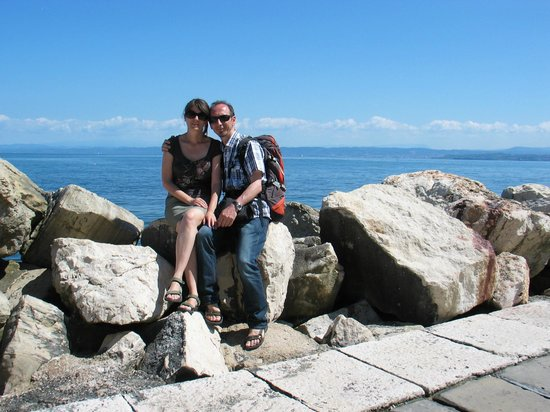 Slovenia Private Tours: We are at the sea
