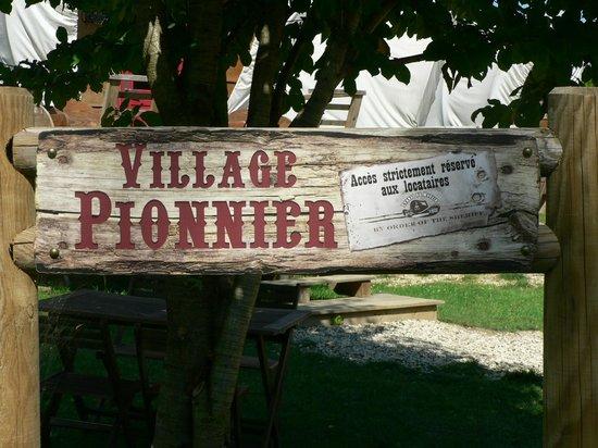 Les Étangs du Moulin : Village Pionnier