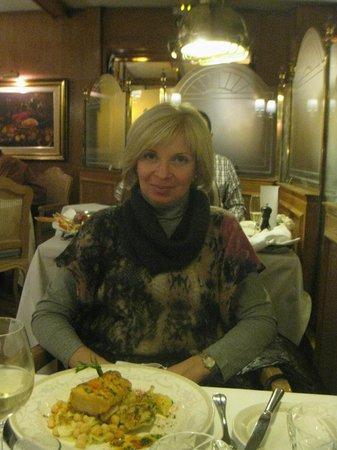 Botafumeiro: В ресторане.