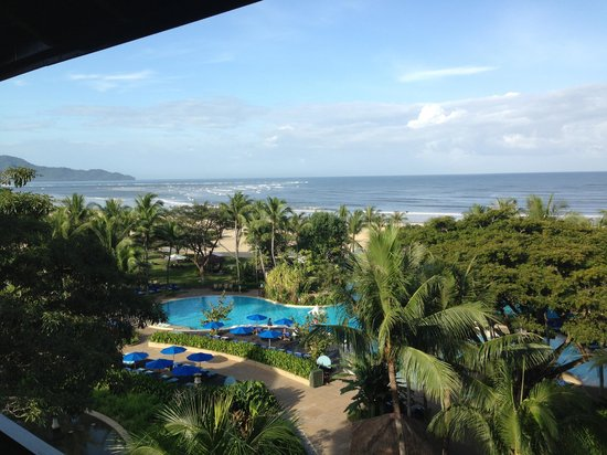 Shangri-La's Rasa Ria Resort & Spa: View from delux ocean view room