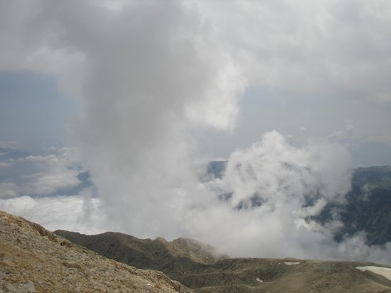 Olympos Teleferik : в облаках