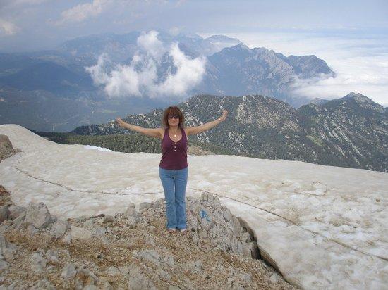 Olympos Teleferik : 2365 м над уровнем моря