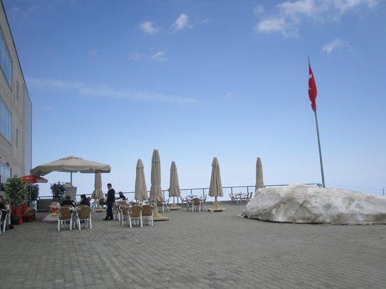 Olympos Teleferik : ресторанчик в небе