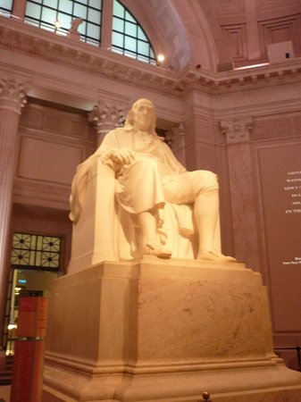 Franklin Statue at The Franklin Institute
