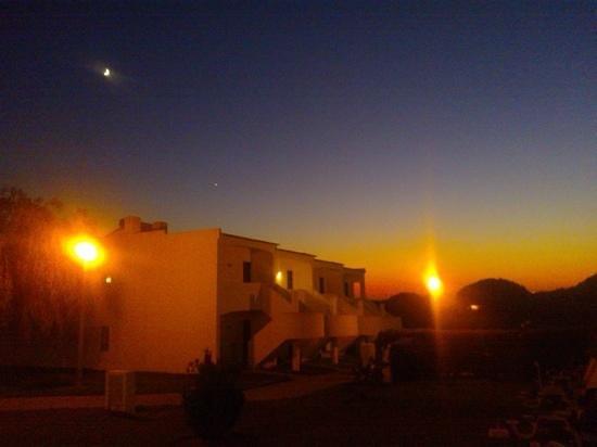Quinta das Figueirinhas: apartment at night