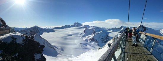 Hotel Edelweiss: Skigebiet Hochsölden - Bergpanorama