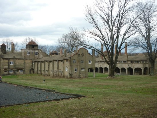 Moravian Pottery and Tile Works : Moravian Tile and Pottery Works Exterior