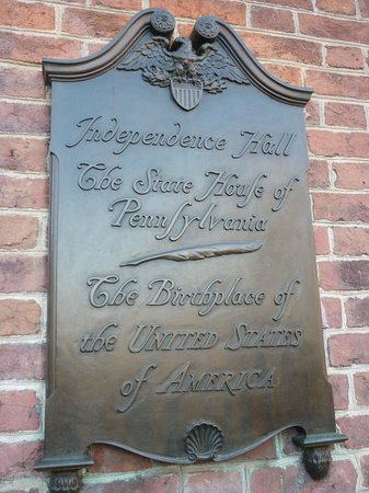 Independence Hall Sign