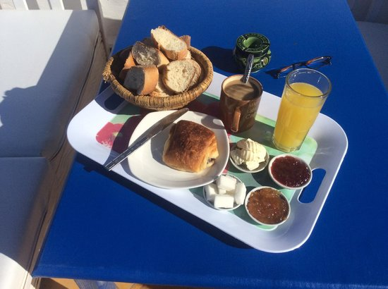 Riad Dar Afram : Breakfast in the morning